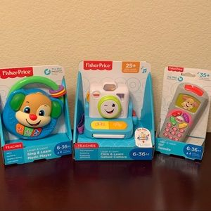 Fisher-Price laugh and learn toy trio